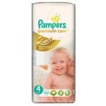 Մանկական տակդիր Pampers Premium N4, 8-14 կգ, 52 հատ