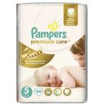 Մանկական տակդիր Pampers Premium N5, 11-18 կգ, 44 հատ