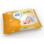 Խոնավ անձեռոցիկ երիցուկի էքստրակտով Lula Baby 20 հատ