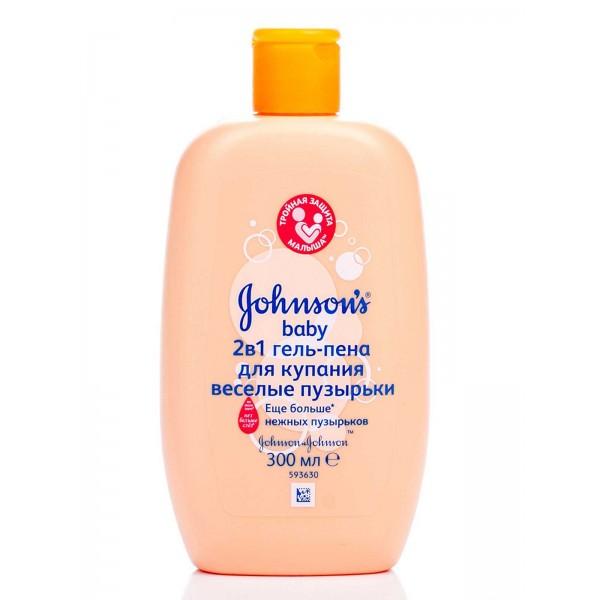 Լոգանքի գել-փրփուր  Johnson's baby Ուրախ պղպջակներ
