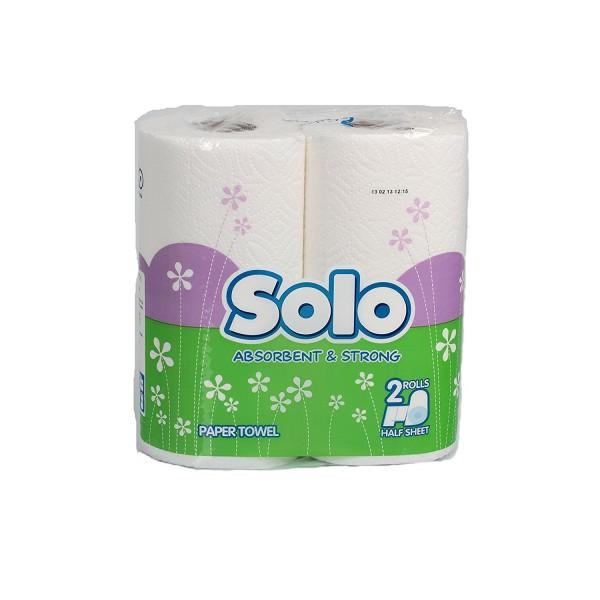 Թղթյա սրբիչ Solo 2 հատ