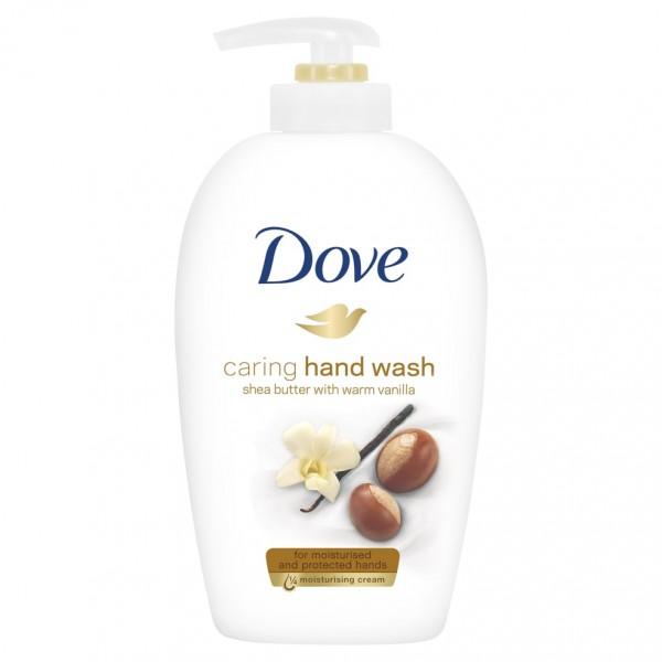 Հեղուկ օճառ Dove caring hand wash Շի յուղ և վանիլ