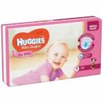 Մանկական տակդիր Huggies Ultra Comfort աղջիկների համար N4, 7-16կգ, 66 հատ