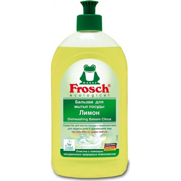 Սպասք լվանալու բալզամ Frosch Lemon