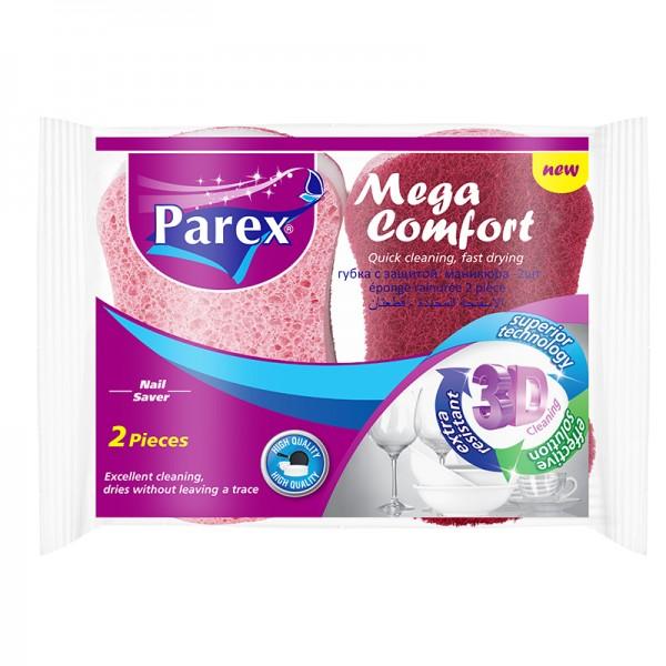 Խոհանոցային սպունգ Parex Mega Comfort 2 հատ