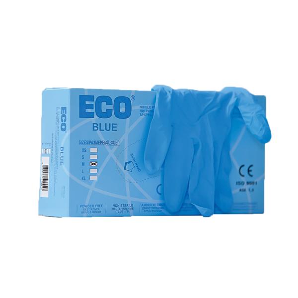 Մեկանգամյա օգտագործման նիտրիլային ձեռնոցներ ECO 100 հատ