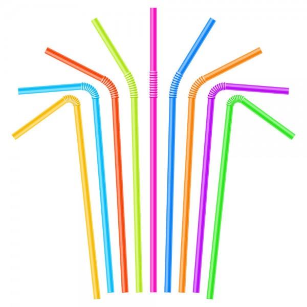 Մեկանգամյա օգտագործման գունավոր ձողիկներ 100 հատ