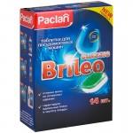 """Սպասք լվացող մեքենայի հաբեր Paclan """"Brileo. Classic"""" 14 հատ"""