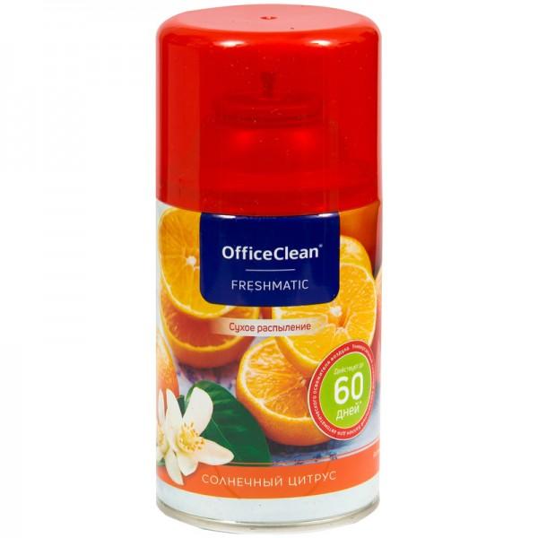 """Ավտոմատ օդափոխիչի ներդիր OfficeClean """"Արևային ցիտրուս"""" 250մլ"""